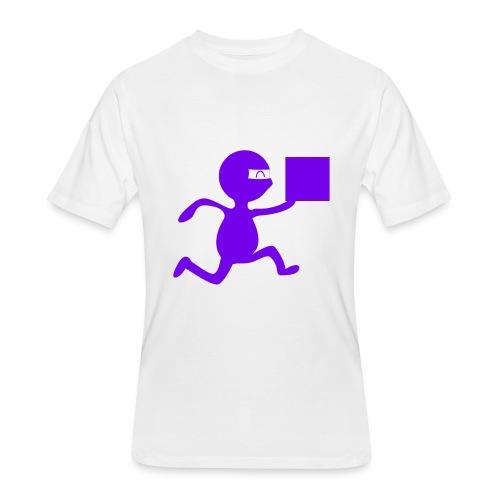 FedEx Ninja - Men's 50/50 T-Shirt