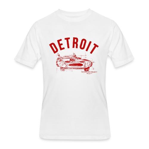 Detroit Art Project - Men's 50/50 T-Shirt