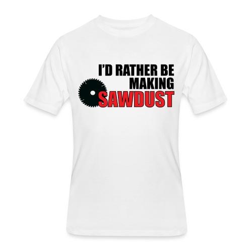 I'd Rather Be - Men's 50/50 T-Shirt