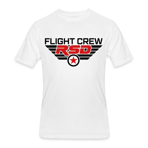 RSD Flight Crew - Men's 50/50 T-Shirt