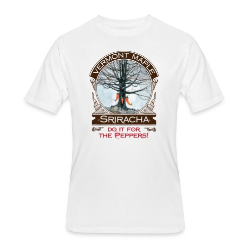 Vermont Maple Sriracha - Men's 50/50 T-Shirt