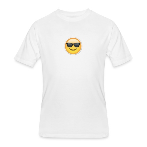 sunglasses emojicon mug & phone case - Men's 50/50 T-Shirt