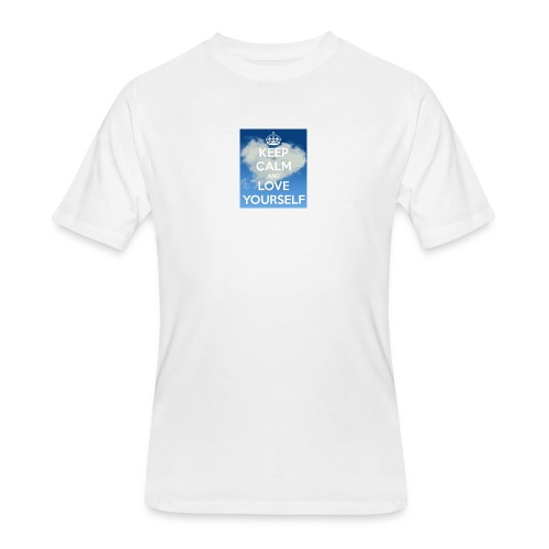 Keep calm and love yourself - Men's 50/50 T-Shirt
