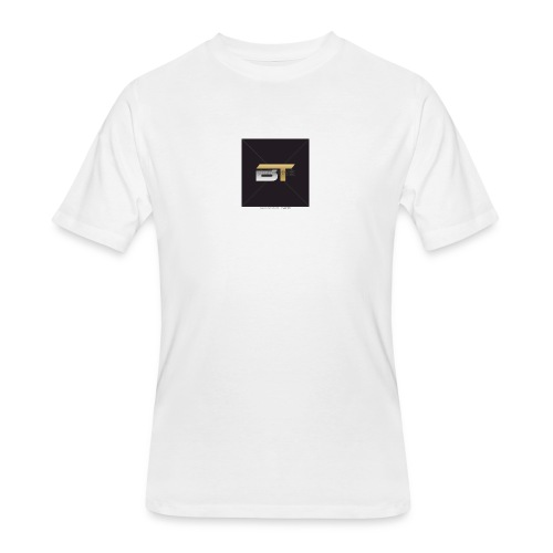 BT logo golden - Men's 50/50 T-Shirt