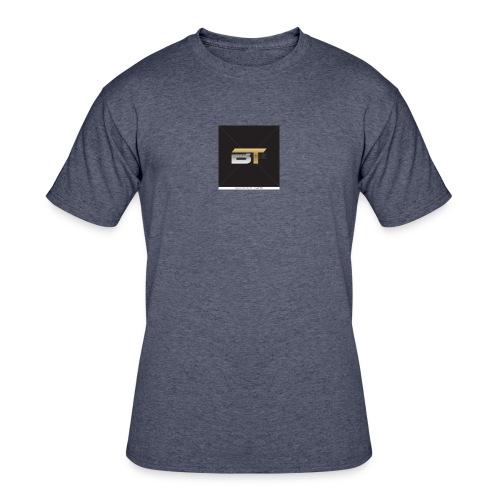 BT logo golden - Men's 50/50 T-Shirt