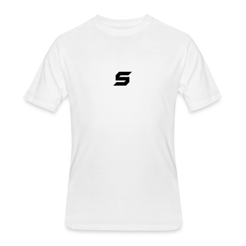 A s to rep my logo - Men's 50/50 T-Shirt