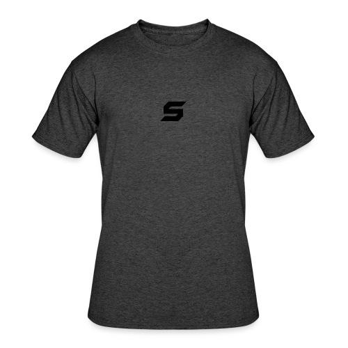 A s to rep my logo - Men's 50/50 T-Shirt