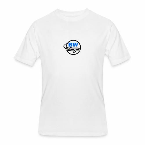 BW Logo - Men's 50/50 T-Shirt
