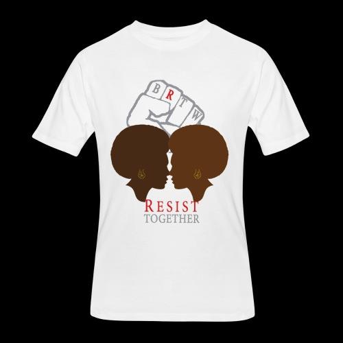 Resist Together Shirt 2 Women png - Men's 50/50 T-Shirt