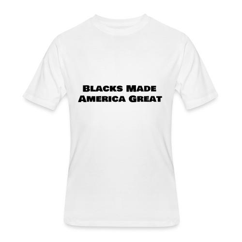 (blacks_made_america) - Men's 50/50 T-Shirt