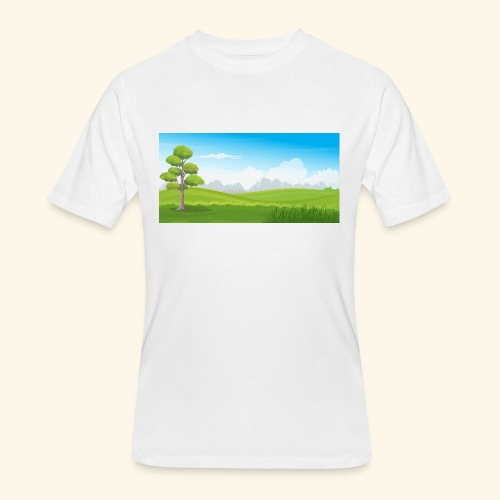 Hills cartoon - Men's 50/50 T-Shirt