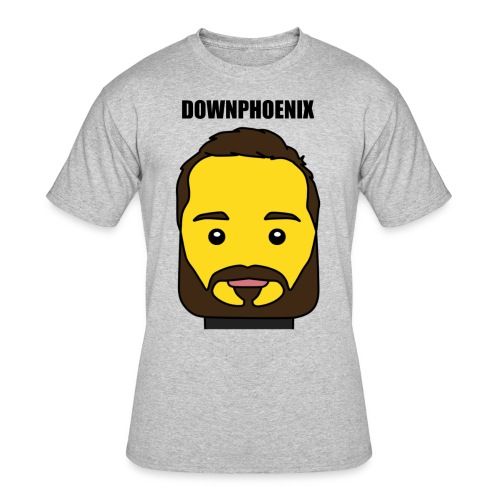 Downphoenix Face Mode - Men's 50/50 T-Shirt