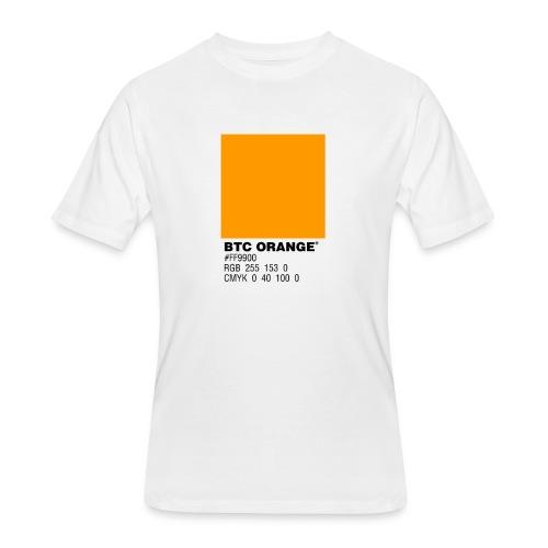 BTC Orange (Bitcoin Tshirt) - Men's 50/50 T-Shirt