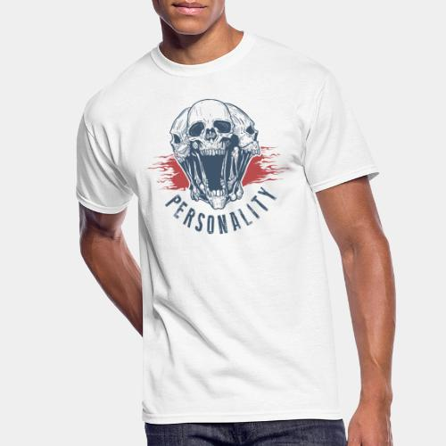 personality yourself skull - Men's 50/50 T-Shirt