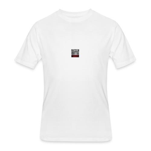 straight outta sheeps - Men's 50/50 T-Shirt