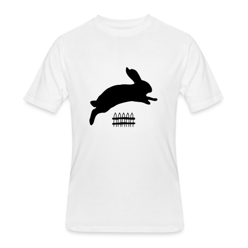 Rabbyt and Fence - Men's 50/50 T-Shirt