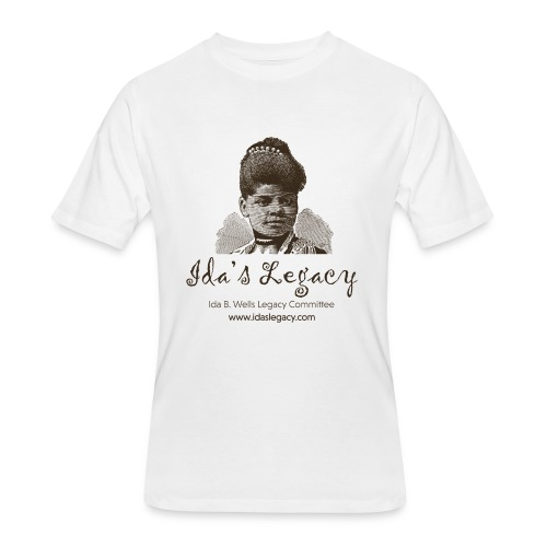 Ida's Legacy One Color Art - Men's 50/50 T-Shirt