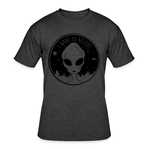 I Want To Believe - Men's 50/50 T-Shirt