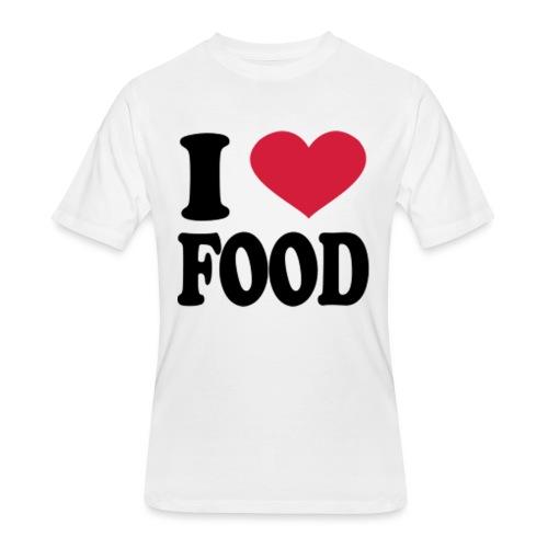 i love food - Men's 50/50 T-Shirt