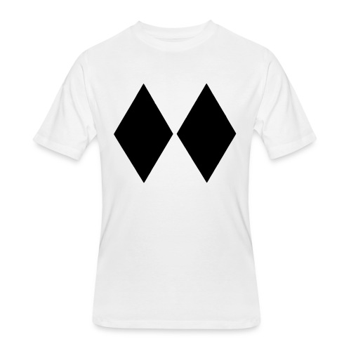 Double Black Diamond - Men's 50/50 T-Shirt