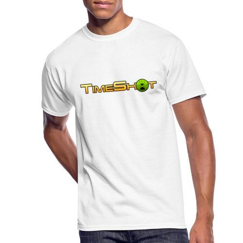 TimeShot Logo Text - Men's 50/50 T-Shirt