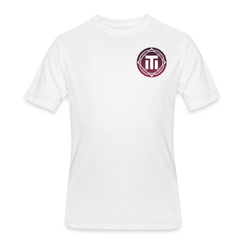 purple sunset logo - Men's 50/50 T-Shirt