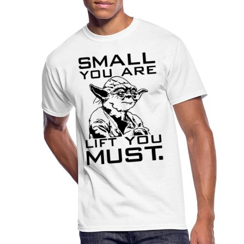 Small You Are Gym Motivation - Men's 50/50 T-Shirt