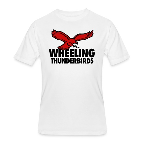 Wheeling Thunderbirds - Men's 50/50 T-Shirt