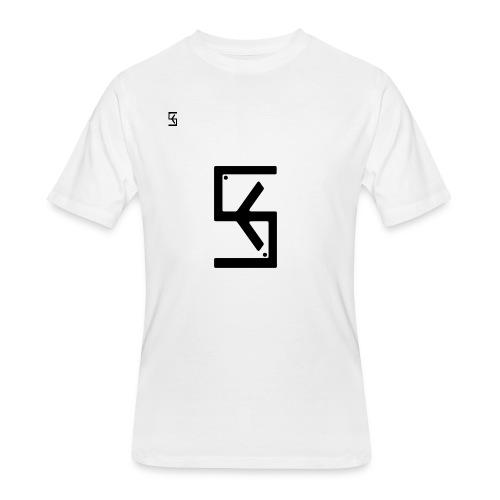 Soft Kore Logo Black - Men's 50/50 T-Shirt