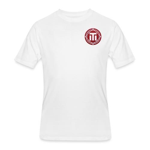 red logo - Men's 50/50 T-Shirt