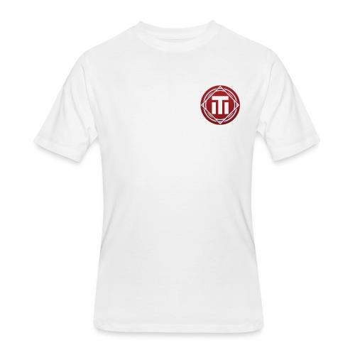 red logo - Men's 50/50 T-Shirt