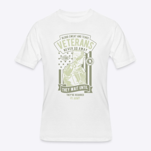 US Army Veterans - Men's 50/50 T-Shirt