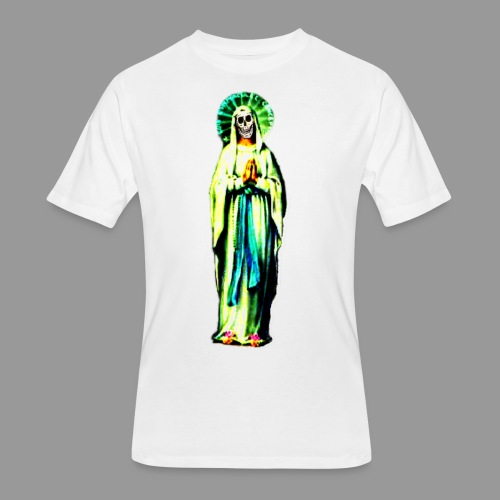 Cult Of Santa Muerte - Men's 50/50 T-Shirt