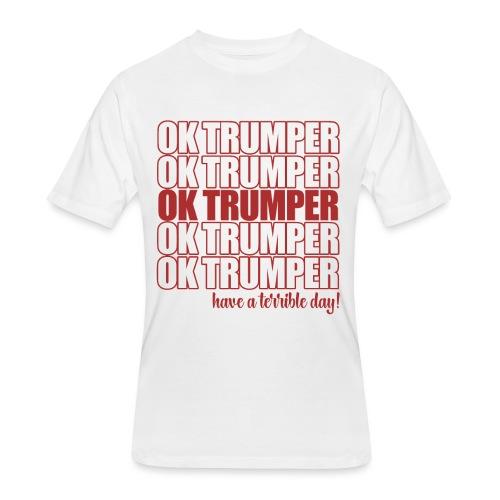 OK trumper - Men's 50/50 T-Shirt