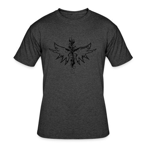 peace.love.good karma - Men's 50/50 T-Shirt