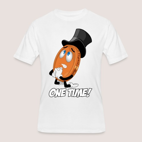 THE ONE TIME PENNY - Men's 50/50 T-Shirt