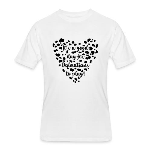 Dalmatians Play - Men's 50/50 T-Shirt