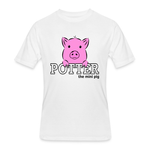 Potter's Logo - Men's 50/50 T-Shirt