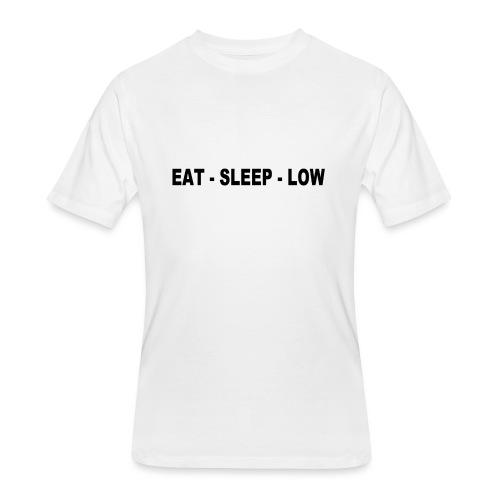 Eat. Sleep. Low - Men's 50/50 T-Shirt