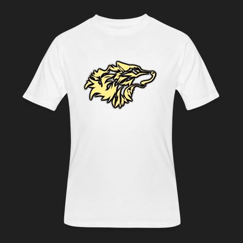 wolfepacklogobeige png - Men's 50/50 T-Shirt