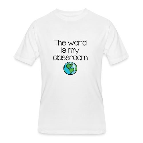 World Classroom - Men's 50/50 T-Shirt