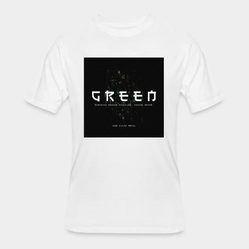 Green/Gorgeous reason evolving, ending never - Men's 50/50 T-Shirt
