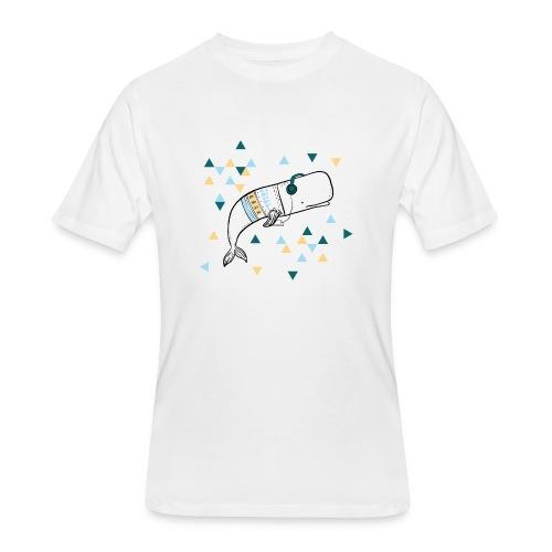 Music Whale - Men's 50/50 T-Shirt