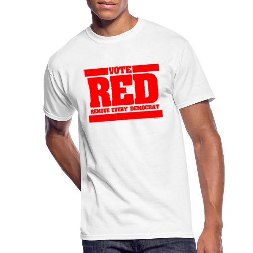 Remove every Democrat - Men's 50/50 T-Shirt