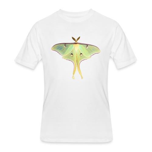 GREEN LUNA MOTH - Men's 50/50 T-Shirt