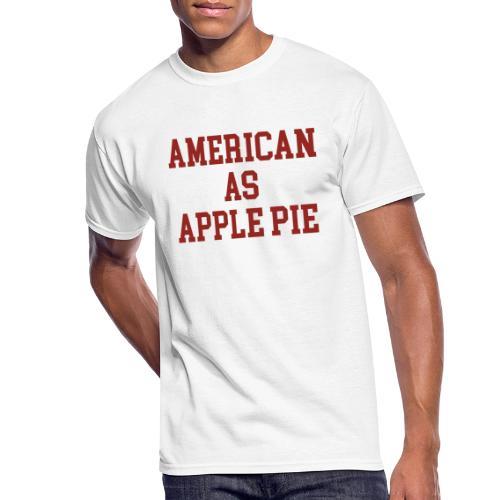 American as Apple Pie - Men's 50/50 T-Shirt
