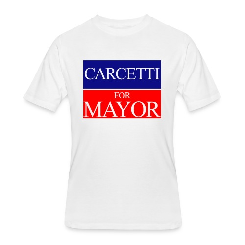Carcetti For Mayor of Baltimore - Men's 50/50 T-Shirt