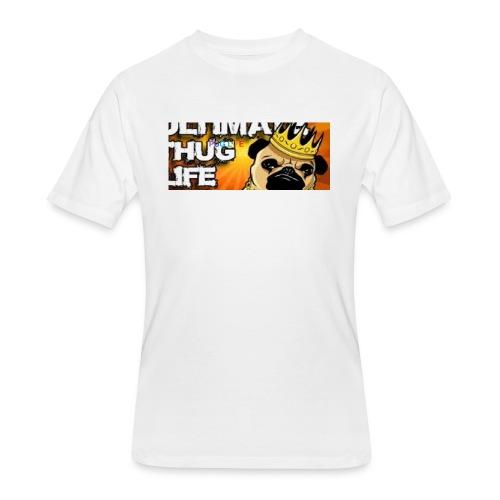 pug life - Men's 50/50 T-Shirt