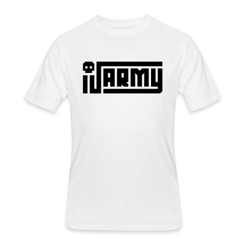 iJustine - iJ Army Logo - Men's 50/50 T-Shirt