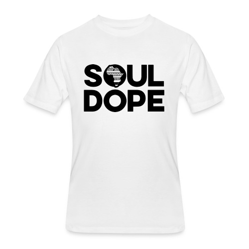 souldope Black Logo - Men's 50/50 T-Shirt